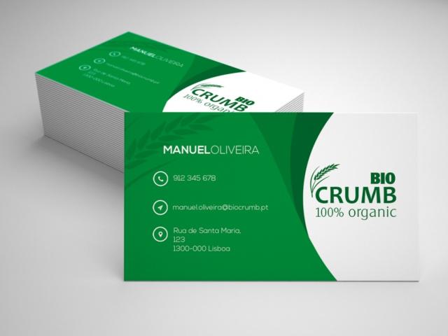 Cartão Biocrumb